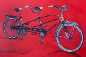 Tandem bycycle