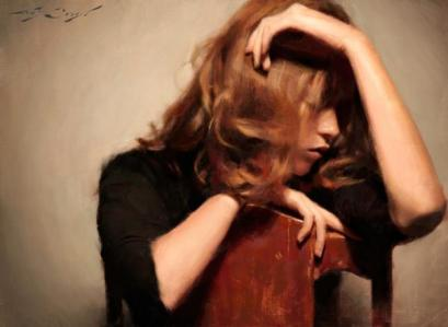 woman painting casey baugh 1