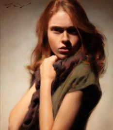 woman painting casey baugh 6
