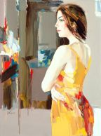 figurative painting woman Josef Kote 10