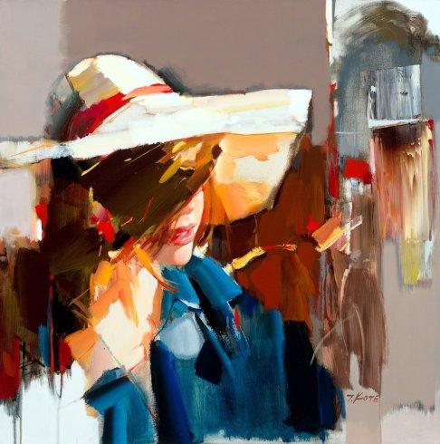 figurative painting woman Josef Kote 4