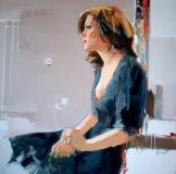 figurative painting woman Josef Kote 6