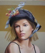 painting of woman ginette beaulieu 10