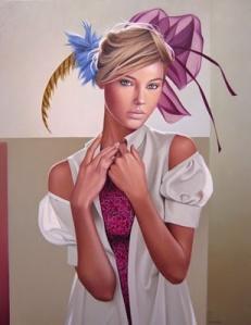 painting of woman ginette beaulieu 14