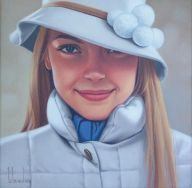 painting of woman ginette beaulieu 2