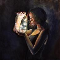 woman painting by emilia wilk 1