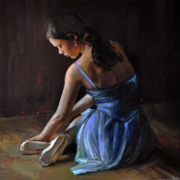 woman painting by emilia wilk 11