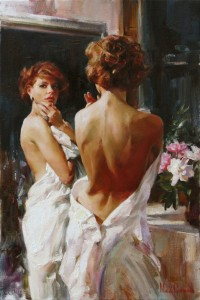 woman painting by emilia wilk 12