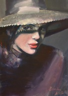 woman painting by emilia wilk 13