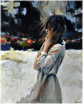 woman painting by emilia wilk 14
