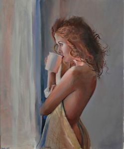 woman painting by emilia wilk 15