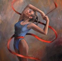 woman painting by emilia wilk 16