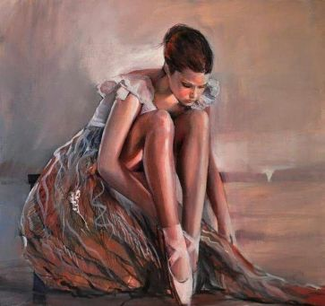 woman painting by emilia wilk 17