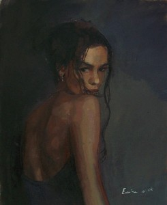 woman painting by emilia wilk 19