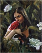 woman painting by emilia wilk 5