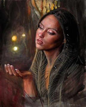 woman painting by emilia wilk 8