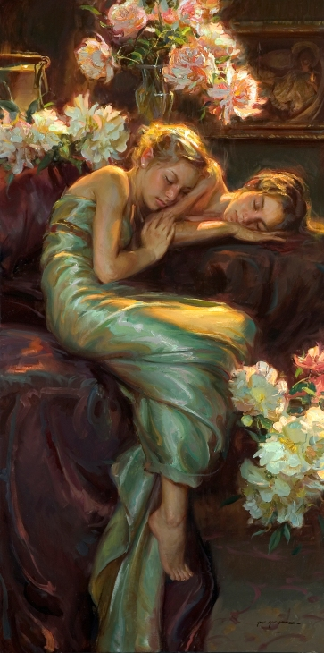356-Daniel-Gerhartz_Midsummer's-Night_72x36_oil-on-canvas