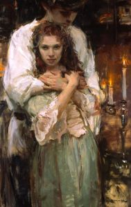 daniel gerhartz painting lovers