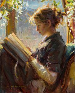 The Garden Window painting by daniel gerhartz