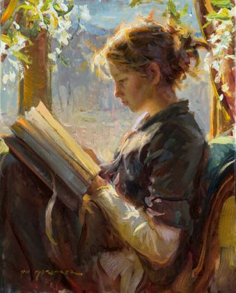 The Garden Window painting by daniel gerhartz