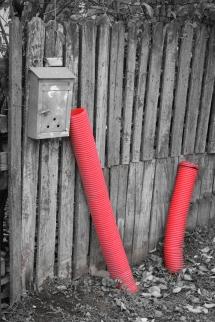 Red underground monster