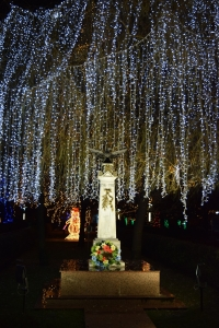Lighted Monument