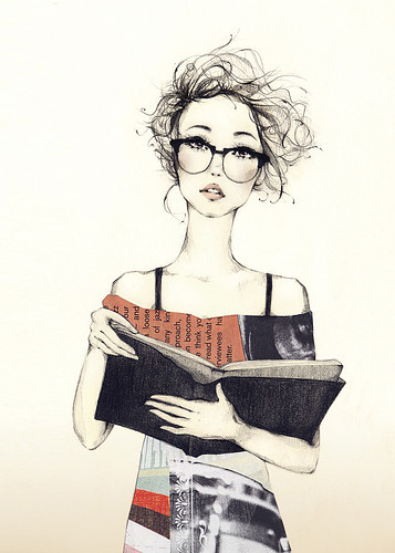 book-girl-illustration-reading-favim-com-321565