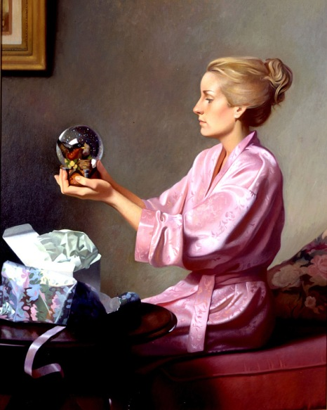 Gift woman painting Kirk Richards