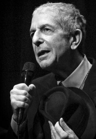 leonard Cohen death photo
