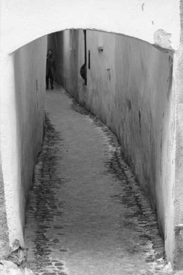 rope street strada sforii brasov romania