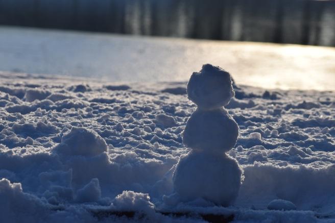 Om mic de zapada - little snowman