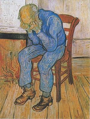Sorrowing Old Man (At Eternity's Gate) by Van Gogh