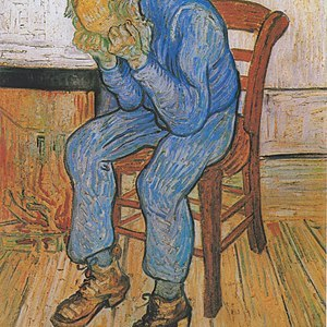Sorrowing Old Man (At Eternity's Gate) by Van Gogh