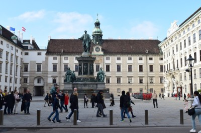 Heldenplatz at the Hofburg