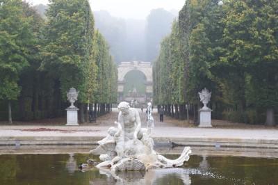 The Schonbrunn Gardens