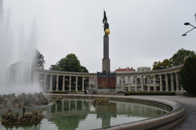 Monument to the Sovient Soldier in Vienna