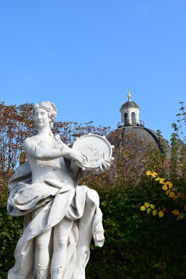 Statue on the Belvedere Grounds