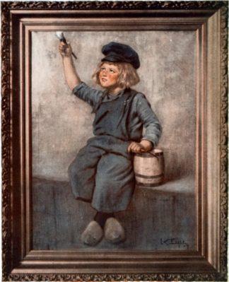 Dutch Boy Painter Lawrence Carmichael Earle