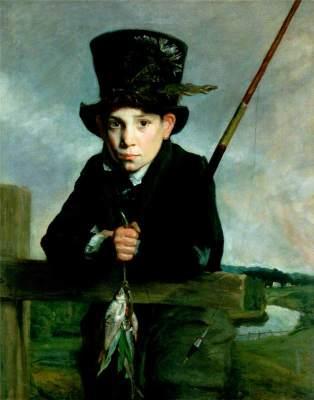 Portrait of a Boy in a Top Hat with Flies by John Opie